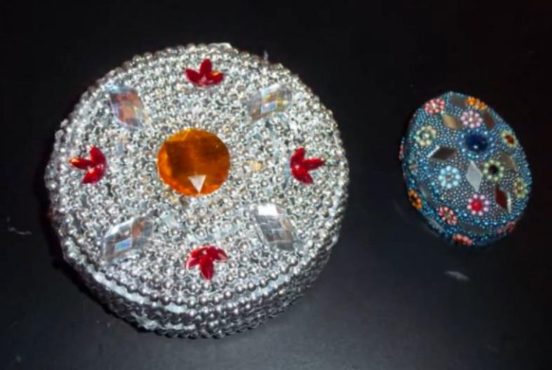 C mo hacer un cofre de joyas reciclado manualidades de papel - Manualidades de papel reciclado ...