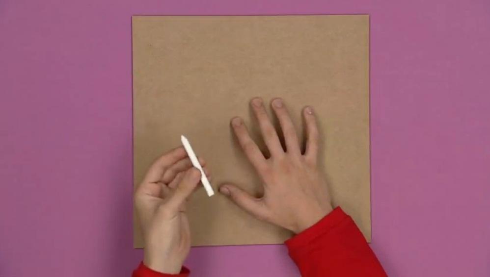 manualidades carton grueso Manualidades de papel