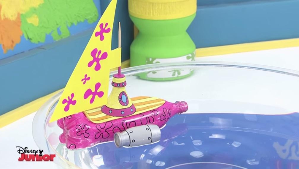 Barco con botella de plastico manualidades de papel - Videos de art attack manualidades ...