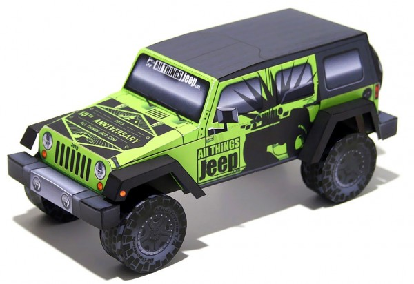 jeep de papel origami