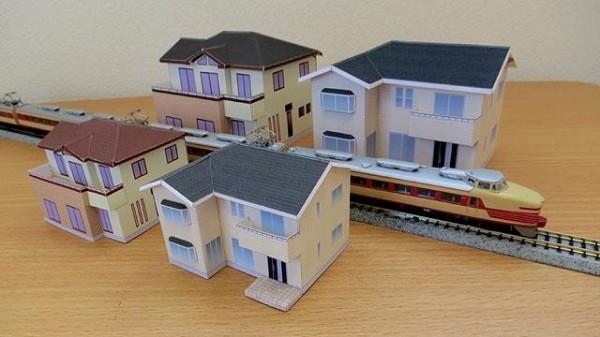 Hacer una casa japonesa de papel manualidades de papel - Como hacer una casa de carton pequena ...