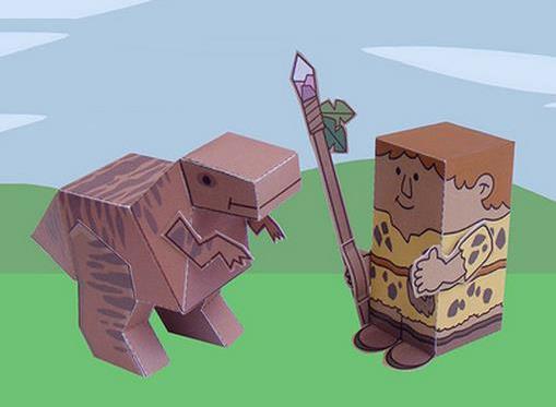 minisaurio guerrero