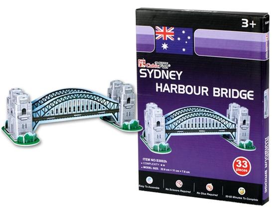 puente harbour puzzl 3d