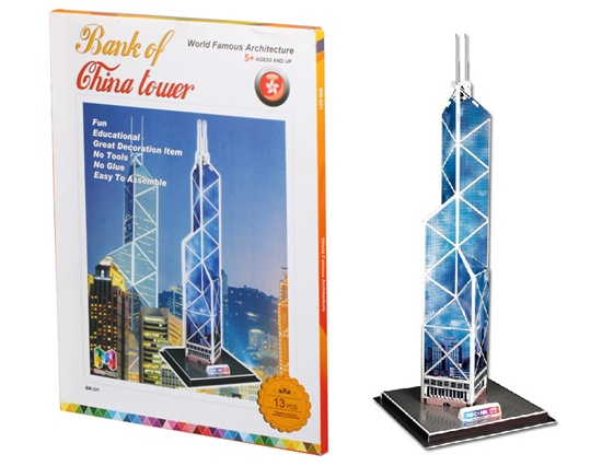 puzzle 3d china tower