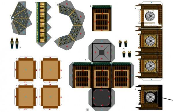 papercraft bigben