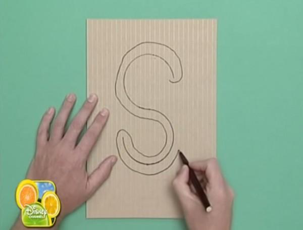 serpiente de carton