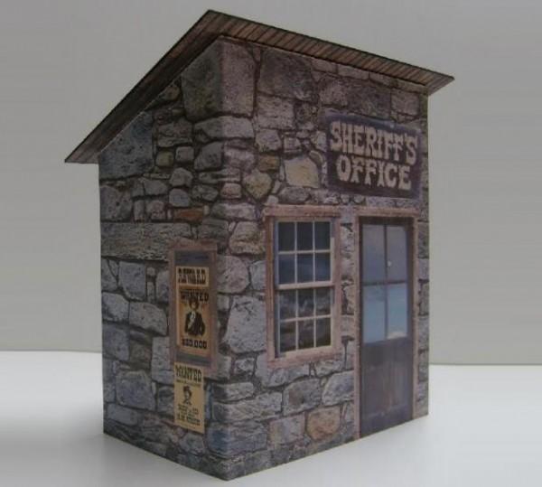 sheriff papercraft