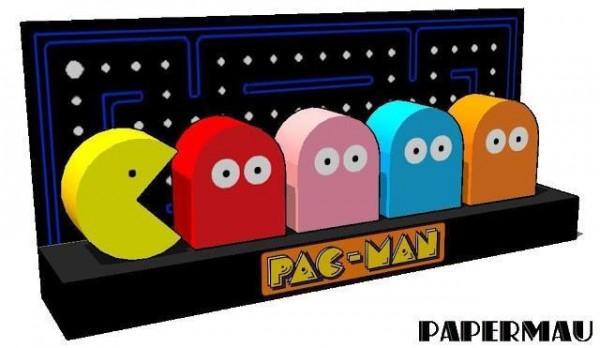 diorama pacman