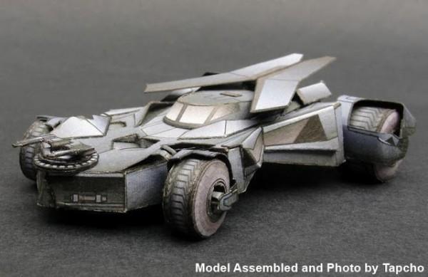 papercraft batmovil
