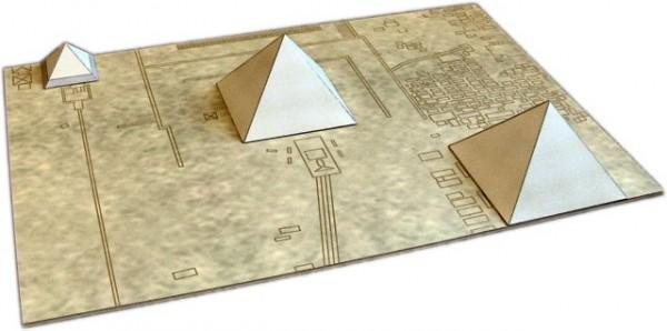 papercraft egipto giza