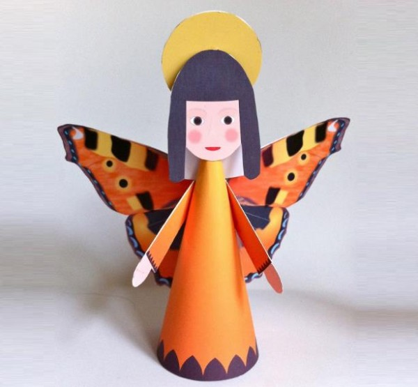 angel papercraft