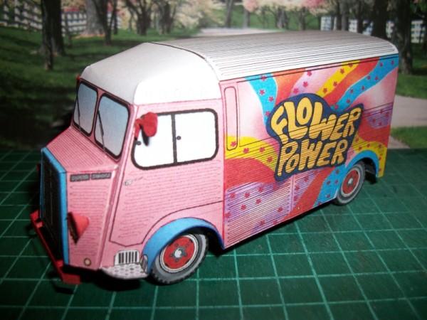 furgoneta papercraft