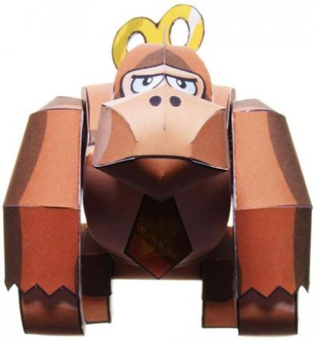 Donkey Kong de papel