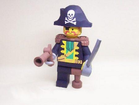 lego papercraft pirata