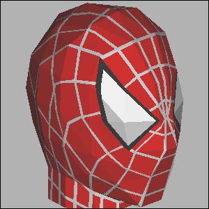 spiderman de papel