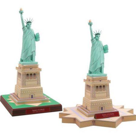 estatua de la libertad de papel