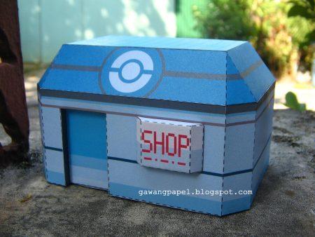 tienda pokemon de papel