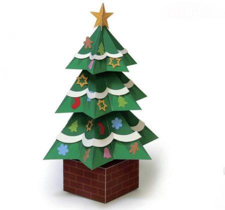 arbol-de-navidad-de-papel