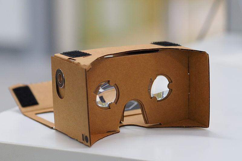 Visor cartón Google Cardboard